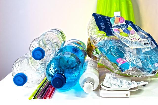 plastový odpadky