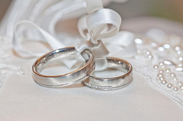 prsteny na svatbu