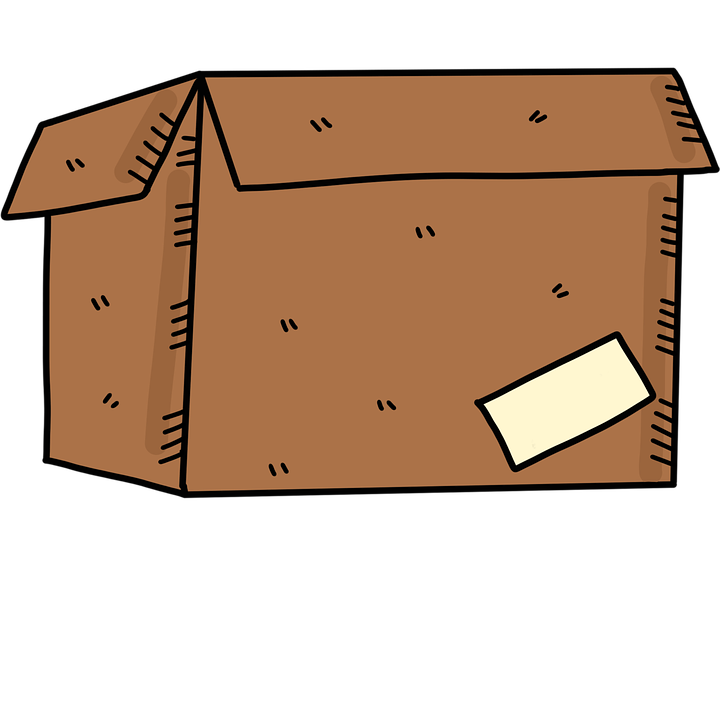 papírová  krabice
